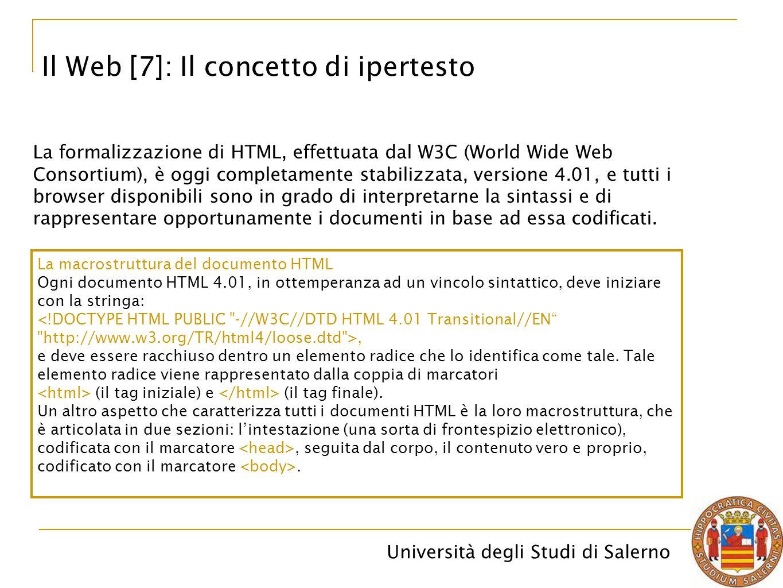 Il Web [7]: Il concetto di ipertesto